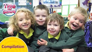 Time For School Compilation 5   CBeebies   FULL EPISODES