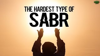 THE MOST DIFFICULT TYPE OF SABR YOU WILL FACE
