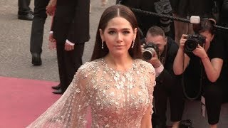 Araya A Hargate on the red carpet for the Premiere of Plaire, Aimer et Courir Vite in Cannes