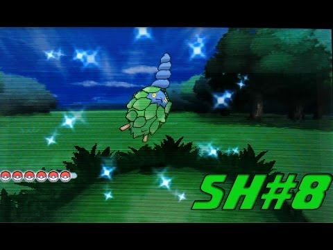 SH#8 FoYT Random Shiny Burmy in Pokemon X !!! -Chi3f