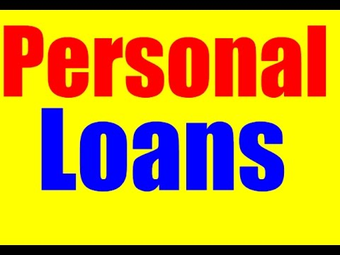 Personal Loans - Bad Credit Personal Loans - How To Get A Loan With Bad Credit