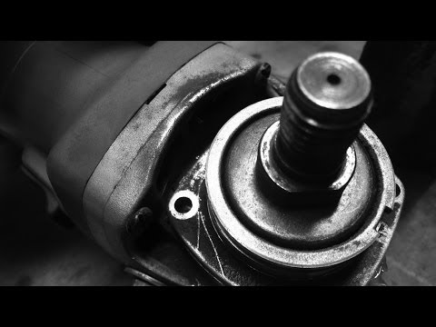 EASY! HOW TO MAINTAIN YOUR ANGLE GRINDER --HD