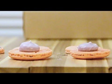 Bubble Tea/Boba Taro Macaron Filling (By BlanchTurnip)