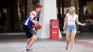 Playing Basketball with Strangers