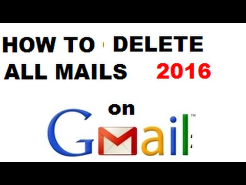 How To Delete All Mail On Gmail In Hindi/urdu