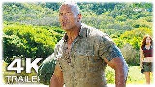 JUMANJI 2 Extended Trailer 3 (4K ULTRA HD) 2017