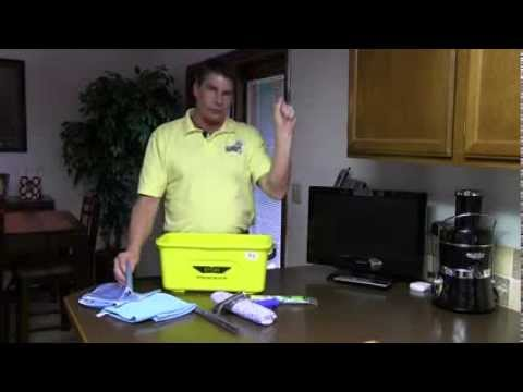 Don Aslett's All In One Complete Window Cleaning Kit