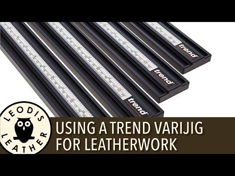 Using a Trend Varijig for Leatherwork