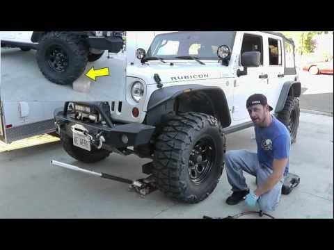 Jeep Wrangler Brake Pad Replacement