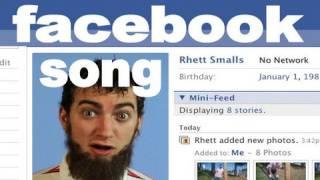 Facebook Song - Rhett & Link