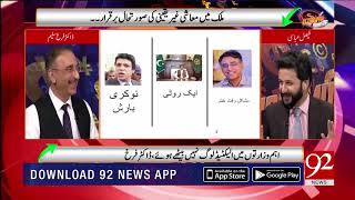Dr Farrukh Saleem comments on Abdul Hafeez sheikh appointment as a Finance adviser