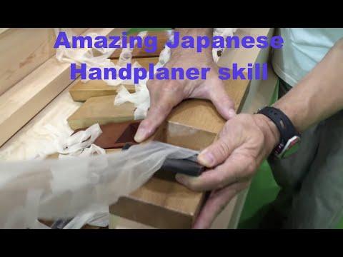 Amazing Japanese kana hand planer