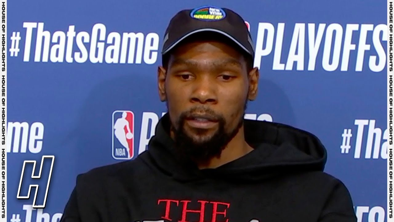 Kevin Durant Postgame Interview - Game 5 - Bucks vs Nets   2021 NBA Playoffs