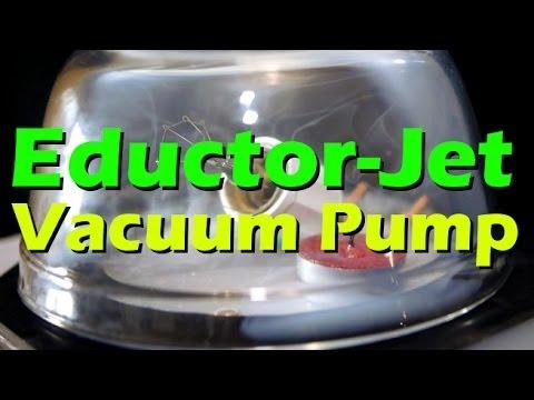 DIY Vacuum Pump Fluid Oil Extraction