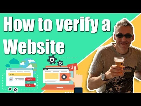 How to Verify a Website in Google Webmaster tools