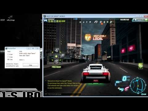 Need For Speed World Cheat (Level up and Money)