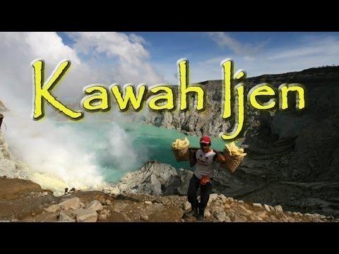 Kawah Ijen Jáva, Dovolená Bali, ostrov Bali,  Indonésie