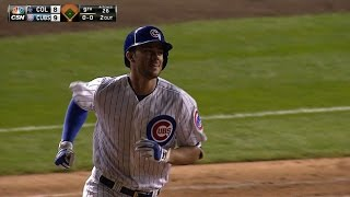 Bryant walks Cubs off with two-run homer