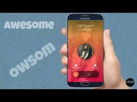 Modify Your Android Caller screen (Best Caller Id Ever) / Without Root