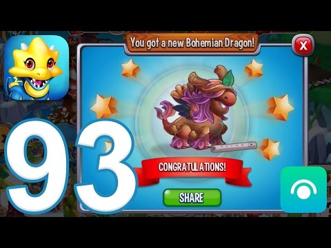 Dragon City - Gameplay Walkthrough Part 93 - Level 42, Bohemian Dragon (iOS, Android)