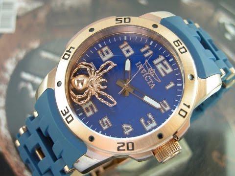 I N V I C T A Relógio Invicta Sea Spider Plaque Rose 10299