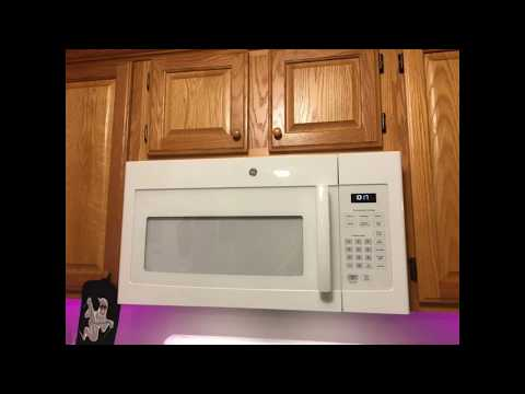 Microwave Removal And Installation Over A Stove/Range
