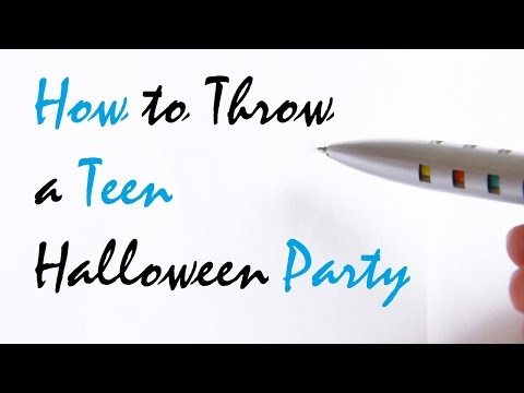 How to Throw a Teen Halloween Party