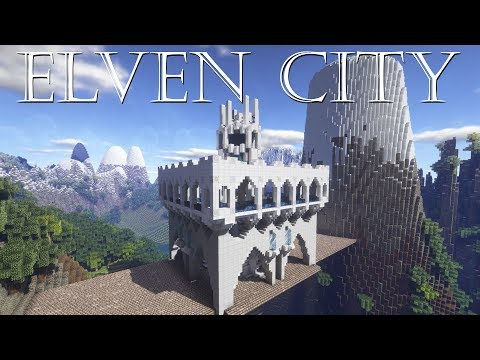 Elven City Timelapse | Minecraft Let's Build It! #1