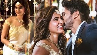 Samantha - Naga Chaitanya engagement video | Love Marriage