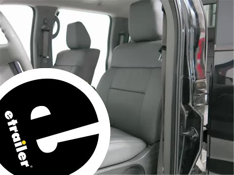 Clazzio Perforated Leather Seat Cover Review - etrailer.com