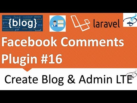 Laravel - Create Blog and Admin Panel | Add Facebook comments system  #16