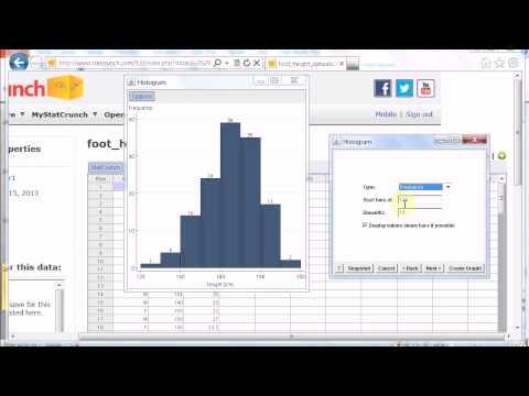 representing quantitative data