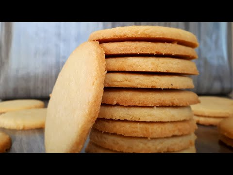 How to make sugar cookies, (no-roll)