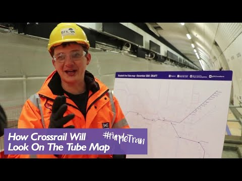 Farringdon Crossrail and New Tube Map