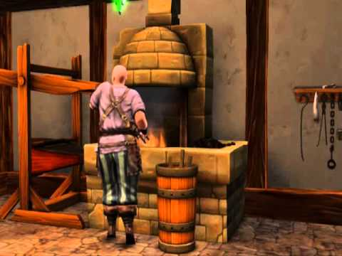 The Sims Medieval - smith