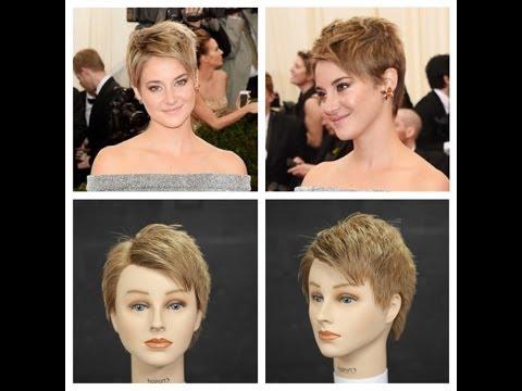 Shailene Woodley 2014 NEW Haircut Tutorial