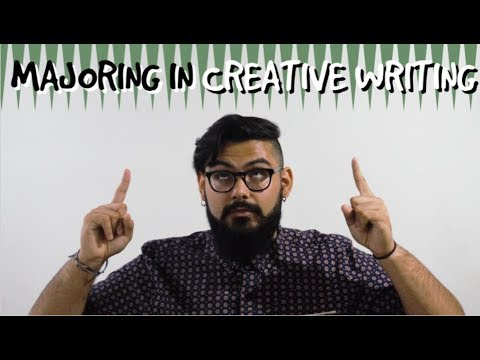7 Reasons to Major or Minor in Creative Writing