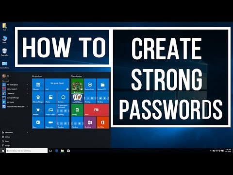 How to Create a Strong Passwords in Easy Ways