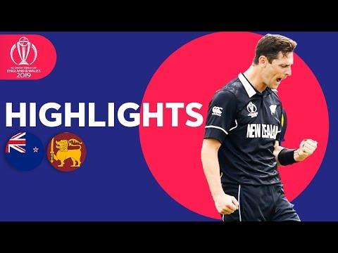 Xxx Mp4 Henry Takes 3 In Big Win New Zealand Vs Sri Lanka ICC Cricket World Cup 2019 Match Highlights 3gp Sex