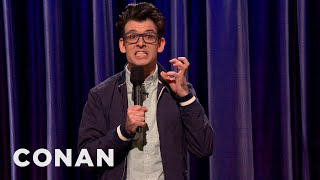 Comedian Moshe Kasher Jokes About Growing Up In A Deaf Family - CONAN on TBS