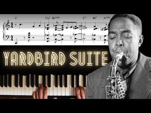 Yardbird Suite - Solo Piano Arrangement │Jazz Piano Lesson #27