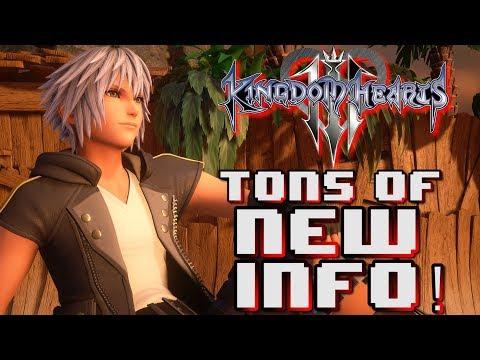 Kingdom Hearts 3 - TONS of New Info From Dengeki!