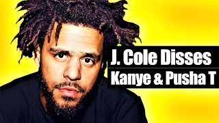 "J. Cole's ""Middle Child"" Is A Kanye West & Pusha T Diss"