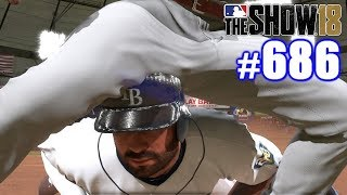 FUNNY SLIDE! | MLB The Show 18 | Road to the Show #686