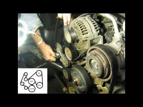 2004 Dodge Ram 1500 5.7ltr Hemi Water Pump Removal and Installation