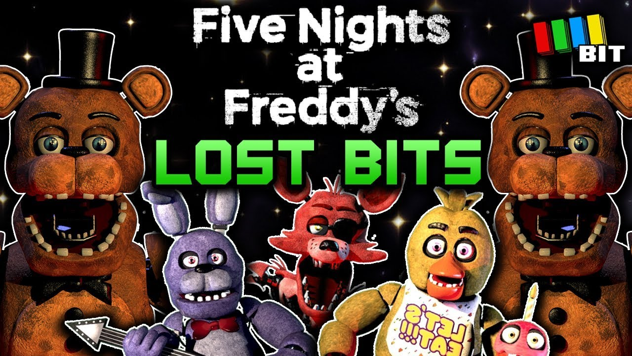 Five Nights at Freddy's LOST BITS | Unused Content [TetraBitGaming]