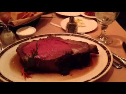 Cortez Room's Bone and Cut 22 oz Prime Rib