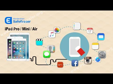 How to Format iPad Pro/ iPad Mini / iPad Air in 1-Click Permanently