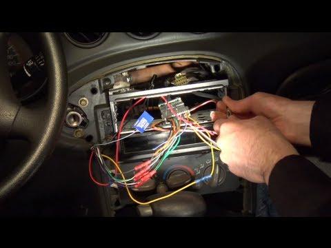 Installing an aftermarket car radio
