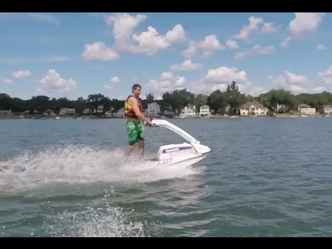 LEARN HOW TO RIDE A STAND UP JET SKI